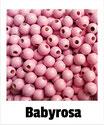 80 Perlen babyrosa 8mm