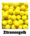 Perlen zitronen- gelb 12mm