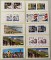10 x 2.00 - Etiketten Briefmarken