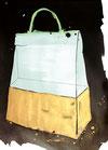 Eine teure Handtasche