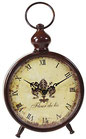 Reloj de mesa metal redondo