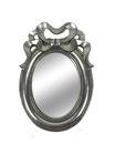 Espejo plata con lazo
