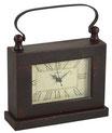 Reloj de mesa hierro rectangular