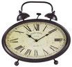Reloj de mesa hierro ovalado