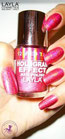 Layla Hologram Effect 12 red taboo