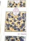Tavoletta cioccolato bianco con Violette vere cristallizzate
