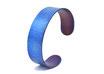 Forged Blue titanium Bracelet