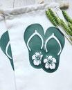 Pochon Flip-Flop Hibiscus