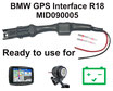 BMW R18 Motorcycle GPS-Interface MID090005