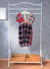 Farbenfrohe, elastische Long-Tunika, Gr. L/XL