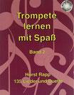 Trompete lernen mit Spaß (Bd. 2)