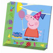 PACK 20 SERVILLETAS PEPPA PIG