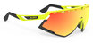 Rudy Project Defender Yellow Fluo Gloss - Multilaser Orange