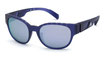 Adidas SP 0009 Transparent Frosted Dark Violet / Grey Violet Mirror