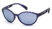 Adidas SP 0012 Transparent Dark Violet / Grey Violet Mirror Polar