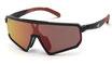 Adidas SP 0017 Black Gloss  / Smoke Red Flash
