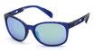 Adidas SP 0011 Frosted Elettric Blue / Grey Green Mirror