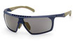 Adidas SP 0030 Matte Oil Blue / Smoke Gold Flash