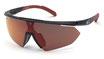 Adidas SP 0015 Black Gloss  / Smoke Red Flash