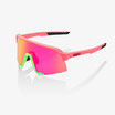 100% S3 Matte Washed Out Neon Pink / Purple Multilayer Mirror Lens