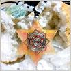 Colgante Orgonita Estrella con Estrella de David