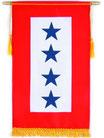 Blue Star Service Banner (4 Stars)