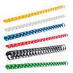 Plastikbinderücken US-Teilung, DIN A4, 9,5 mm