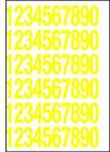 Numeri e lettere adesive