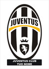 Targa in plexiglass stemma Juventus per club