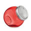 Bomboniera nascita barattolo di vetro con tappo metallico 4254