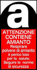 Etichette per il Trasporto di Amianto