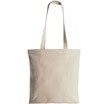 Shopper in cotone beige - OFFERTA