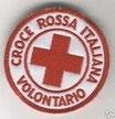 Toppa Logo Croce Rossa Italiana Volontario