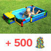 POOL S + 500 BÄLLE