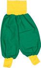 dirndl pirat 056-80 grün mit gelb