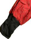 dirndl pirat 110-134 rot mit schwarz