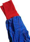 dirndl pirat 080-116 blau mit rot
