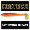"2.8"" KEITECH FAT Swing Impact Orange Shiner"