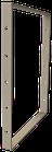 Pied de table BaYa H 71,5 x Larg 60 cm