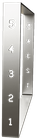 Pied de table basse BaYa H 39 x Larg 60 cm