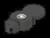 Basisstein mit Solar LED