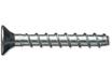 Betonschraube, Schraubanker MMS+F,  Stahl  verzinkt, Antrieb TX 45, VPE 25 Stk., Bohrloch Ø 8 mm, Setztiefe 50 mm
