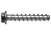 Betonschraube, Schraubanker MMS,  Stahl  verzinkt, Antrieb 6KT 10, Bohrloch Ø 6mm, Setztiefe 35mm