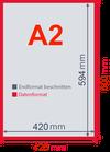 A2 Plakate  42cm x 59,4cm