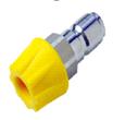 Buse de désinfection courte de 55 mm avec buse de 40°/30 l/min