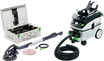 Festool Langhalsschleifer Planex, LHS 225-IP/CTL 36 E AC-Set