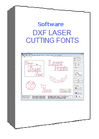 DXF Laser Cutting Fonts V 5.1 - Single-user license