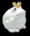 "Frogmania ""Glitter"", white"