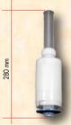 305038 VALVOLA DI SCARICO H=280 mm(con ancorina 90 mm)