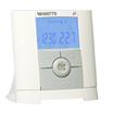 P06672 - Cronotermostato ambiente digitale a Radio frequenza con display LCD per il controllo di diverse tipologie di sistemi di riscaldamento.